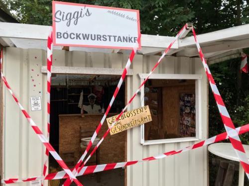 SWAMP 2020 Bockwursttanke geschlossen
